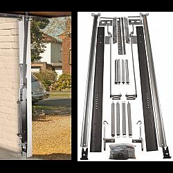 Retractable Garage Door Lifting Gear - Cranked Arm for Narrow Openings