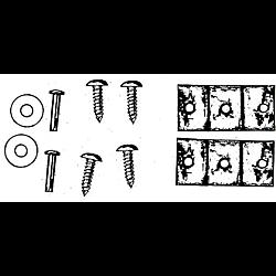 Lock Bar Guides Fixing Kit