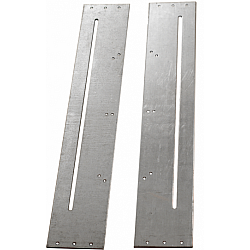 Pair of Slotted Fixing Plates