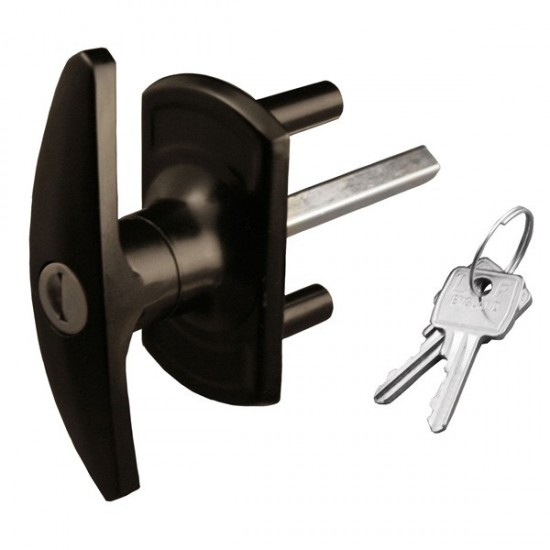 Bonsack T-Handle Lock 35mm Spigots