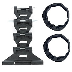 Cardale 4001903 Thermaglide GENUINE Roller Door Locking Strap 55mm lath & 2 Collar Ring 60mm Set