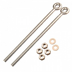 """Cardale DOUBLE DOOR Spring Eye Bolts 10"""""""