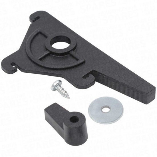 Cardale GENUINE Rear Locking Latch Lever Handle CRUCIFIX & CAM - Slideaway Doors