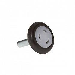 Garador Folding Sectional Bottom Roller Wheel 3040311 - 50mm