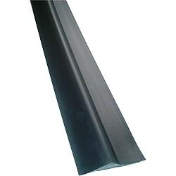 """14ft 6"""" - 20mm High Garage Door Rubber Floor Threshold Seal Kit"""