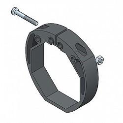 60mm Roller Door Octagonal Locking Ring 55mm lath