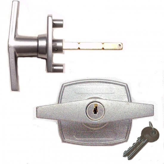 Birtley 2 Hole T-handle Lock