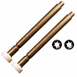 Wickes / B&Q CD45 GRP / FIBREGLASS Roller Spindles 168mm