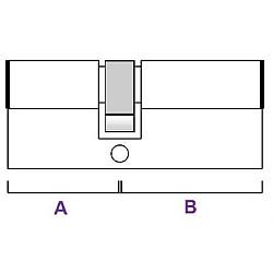Euro Cylinder ANTI DRILL Door Lock Double Barrel