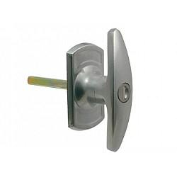 King T-Handle Lock 35mm Spigots Long Shaft