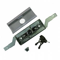 Steel Line Inline Roller Shutter Lock - Chrome