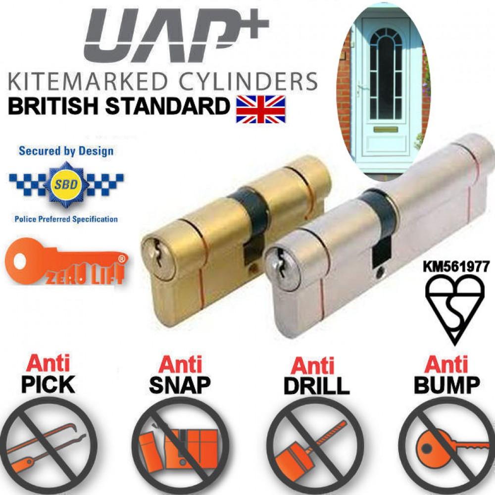 UAP KITEMARKED Euro Cylinder ANTI SNAP Door Lock HIGH SE