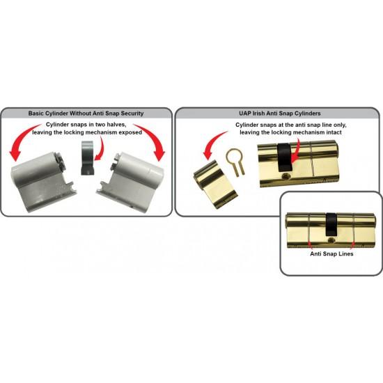 UAP KITEMARKED Euro Cylinder ANTI SNAP Door Lock HIGH SECURITY
