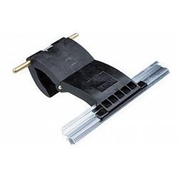 55mm Lath Roller Door Locking Strap 2 segment