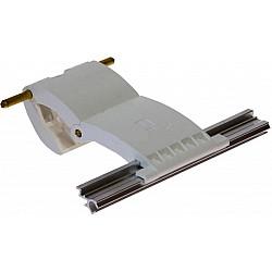 55mm Lath Roller Door Locking Strap 2 segment - White