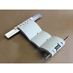 55mm Lath Roller Door Locking Strap 3 segment - White