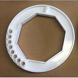 60mm Roller Door Octagonal Collar Ring
