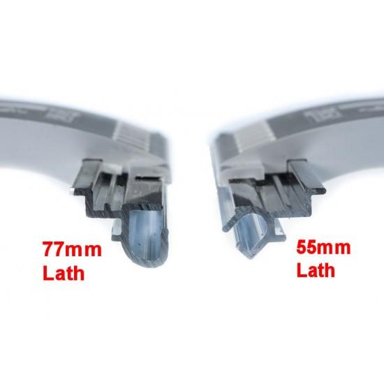 77mm Lath Roller Door Locking Strap 3 segment