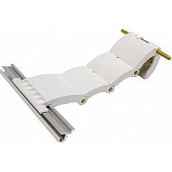 Genuine Gliderol 77mm Lath Roller Door Locking Strap 4 Segment - White