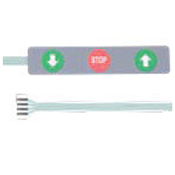Seceuroglide Genuine PDT Roller Door Control Buttons Ribbon