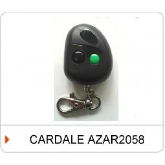 Cardale 2 Channel AZAR 2058 Remote Control Handset