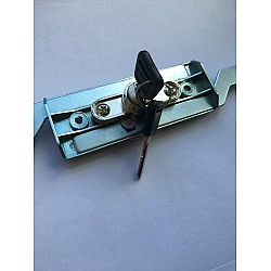 Steel Line Inline Roller Shutter Lock - Black