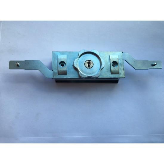 Steel Line Inline Roller Shutter Shutter Lock - Chrome
