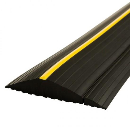 27mm SOLID Garage Door Weather Defender Floor Threshold Seal Kit - XL