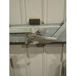 Wessex / Ellard Garage Door Internal Lock Handle - 2 Side Cam Anti Clockwise