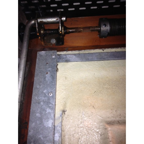 Bonsack Garage Door Internal Lock Handle